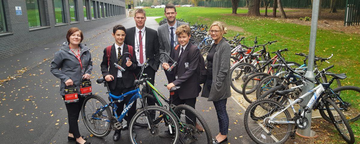 Hessle Academy - Cycle Lock Initiative