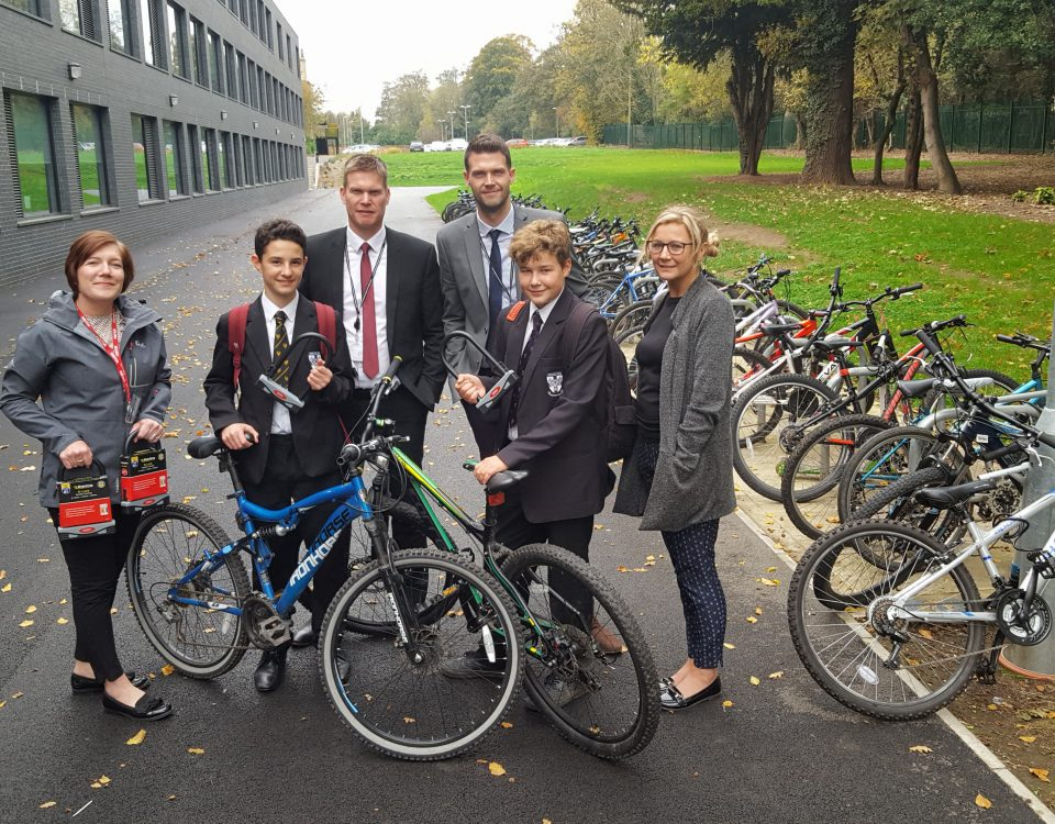 Hessle Academy - Cycle Lock Initiative