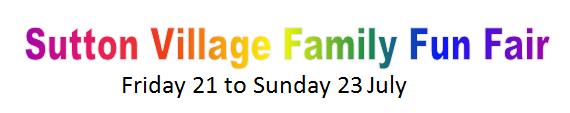 Sutton Village Family Fun Fair