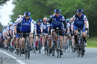 Fallen Police Officers Remembered on Gruelling Cycle Journey