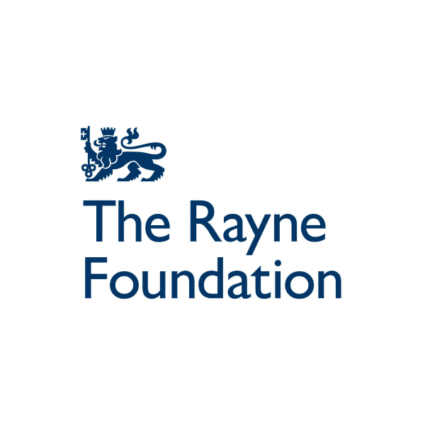 Grant funding from the Rayne Foundation