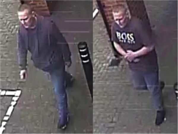 The Police would like to speak to this man in connection with two thefts in Beverley