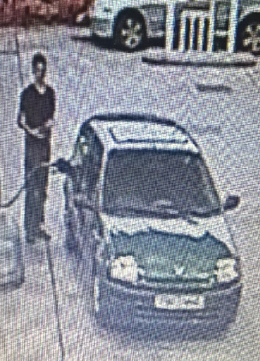 Man wanted in connection with petrol theft