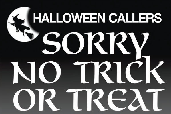 If you don't want Halloween Callers, check this out!