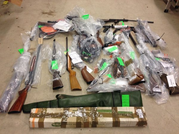 Humberside Police Weapons Surrender Update - 119 guns handed in
