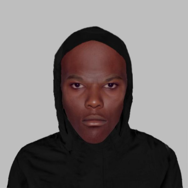 Appeal following robbery on Goddard Avenue, Hull: E-fit of man released