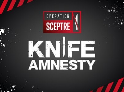 National Knife Amnesty Op Sceptre: Knife bins will be placed in police stations