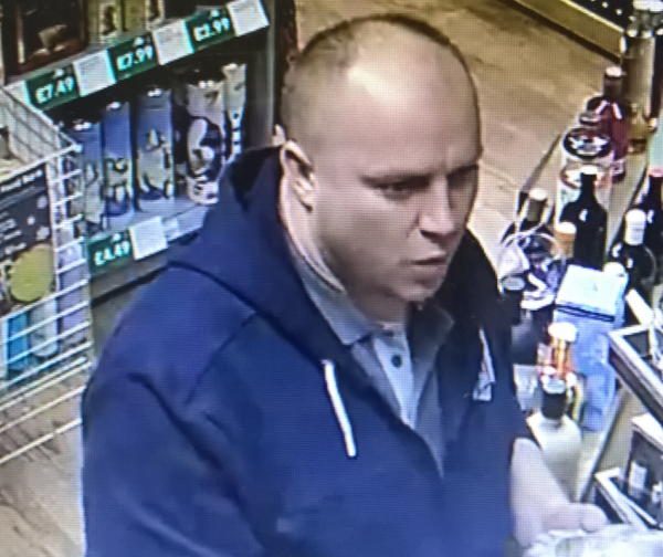 Shop Theft - Do you know this man?