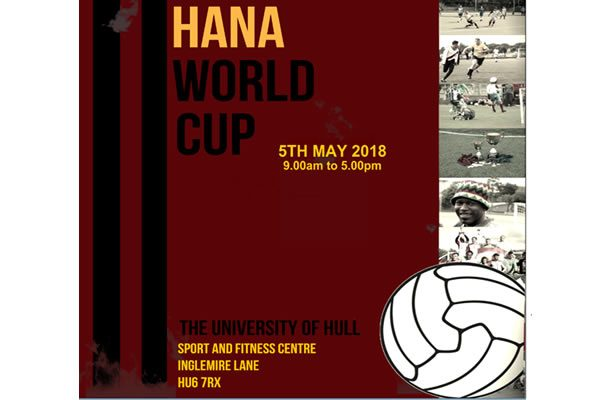 Humber All Nations Alliance World Cup of Football event - New Date!