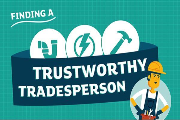 Finding a trustworthy tradesperson