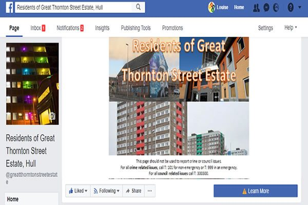 Do you live on the Great Thornton Street estate?