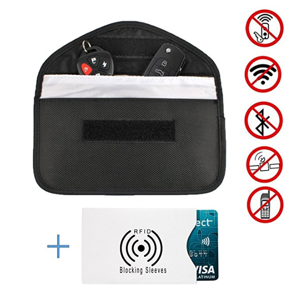 Block mobile phone signals - mobile phone blocker pouch