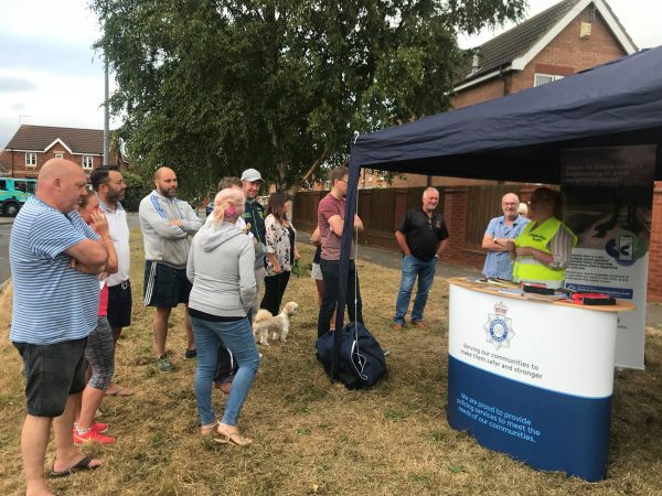 NN take part in the first Castle Grange 'Pop Up Drop In'