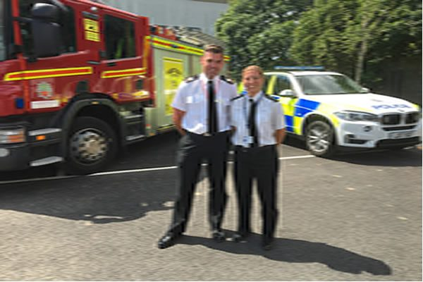 Exciting collaboration between Humberside Police and Humberside Fire & Rescue Service