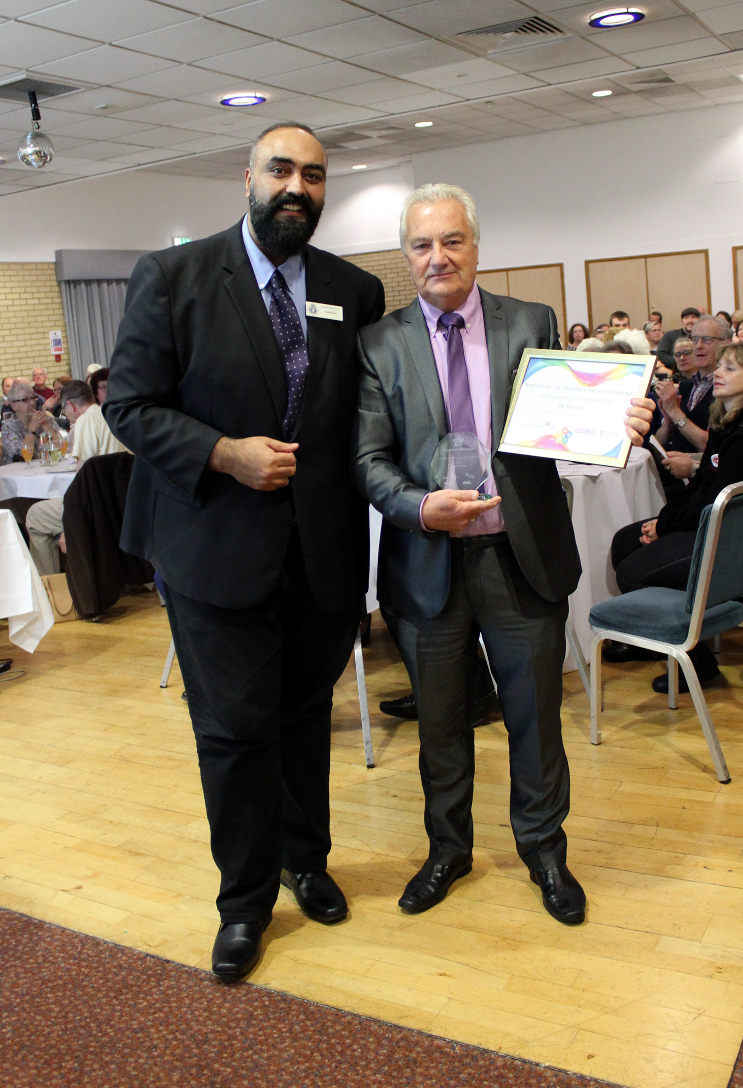 WINNER Community Champion - Ray Drayton