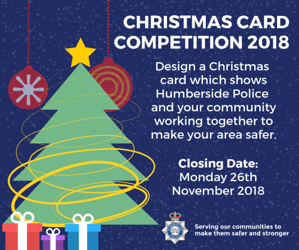 Humberside Police Christmas Card Competition Forcewide