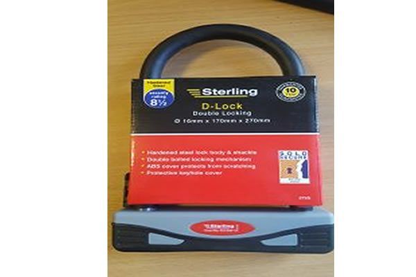 Grab yourself a Sold Secure Rated cycle lock - don't lose your bike this Christmas