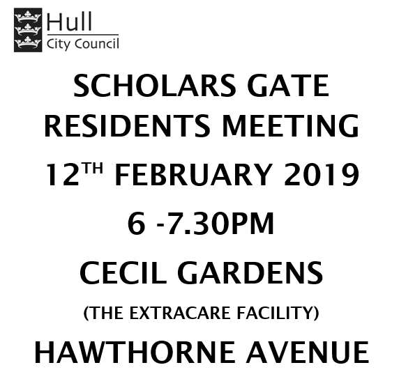 Scholars Gate residents meeting