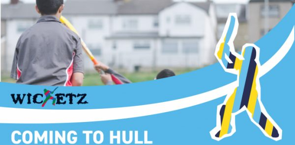 New nationwide cricket scheme 'Wicketz' funded by The Lords Taverners comes to Hull.