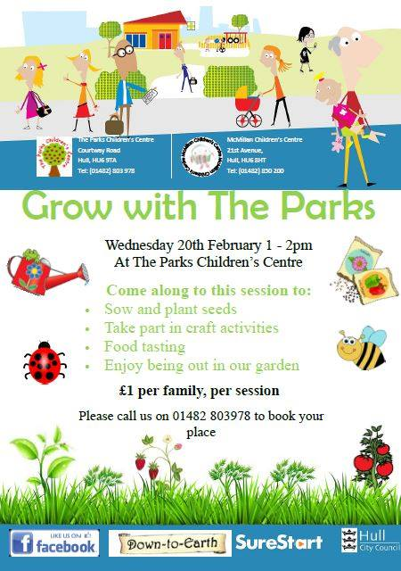 Hull: Grow with The Parks