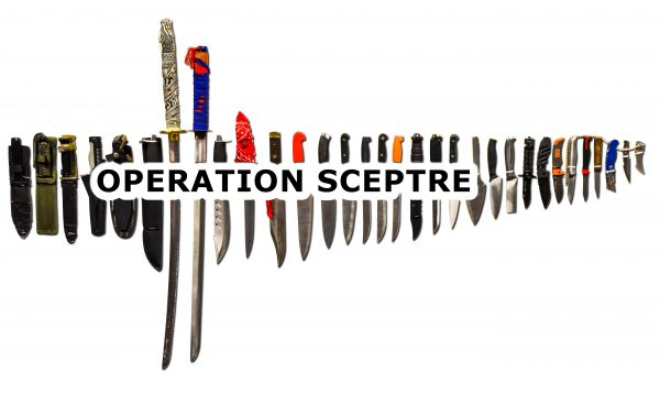 Operation Sceptre – National Knife Surrender 11-17 March 2019