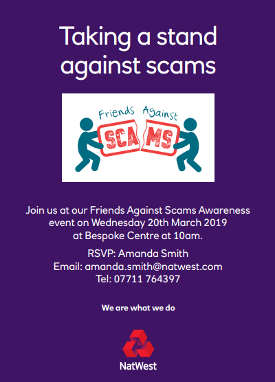 Hull: Take a stand against scams!